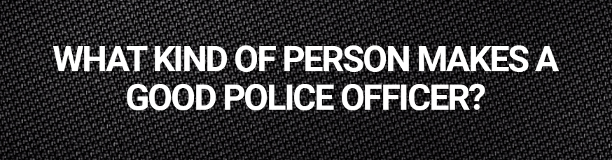 Good Police Officer